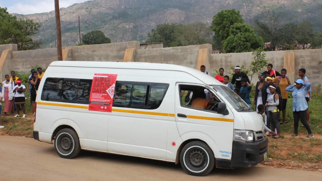 Super Saturday Transport eSwatini HIV prevention