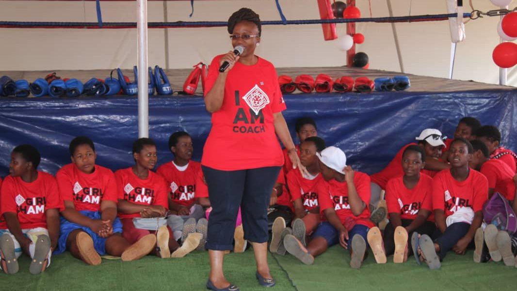 Girl Champ eSwatini Coach HIV prevention