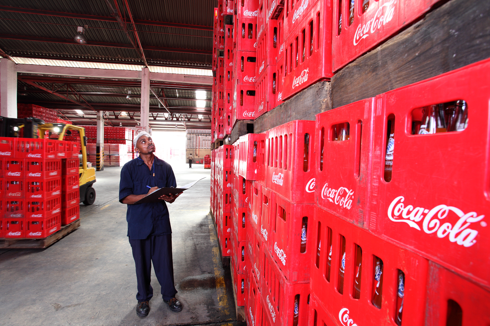 Coca-Cola project last mile